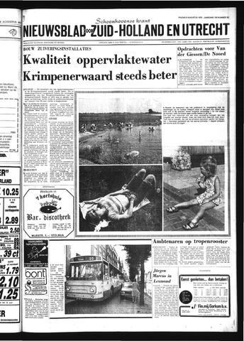 Schoonhovensche Courant 1975-08-08