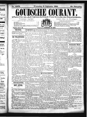 Goudsche Courant 1912-09-18