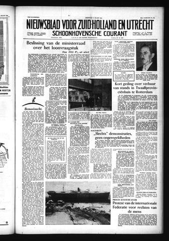 Schoonhovensche Courant 1956-03-21