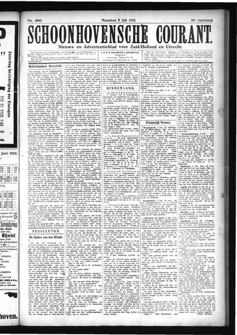 Schoonhovensche Courant 1923-07-09