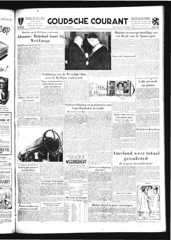 Goudsche Courant 1954-02-20