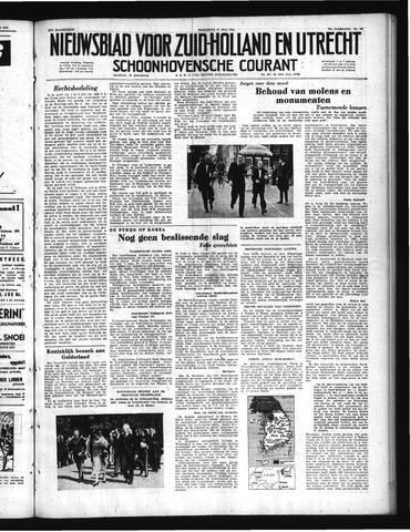 Schoonhovensche Courant 1950-07-12