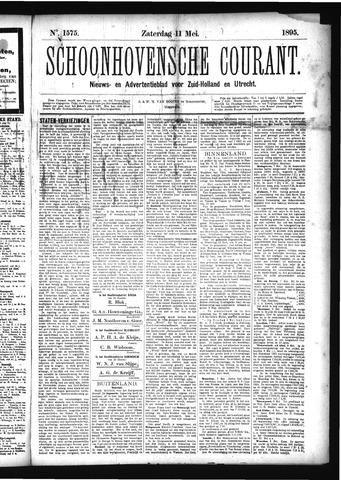 Schoonhovensche Courant 1895-05-11