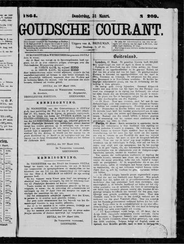 Goudsche Courant 1864-03-31