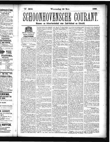 Schoonhovensche Courant 1896-05-20