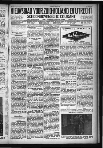 Schoonhovensche Courant 1932-07-13