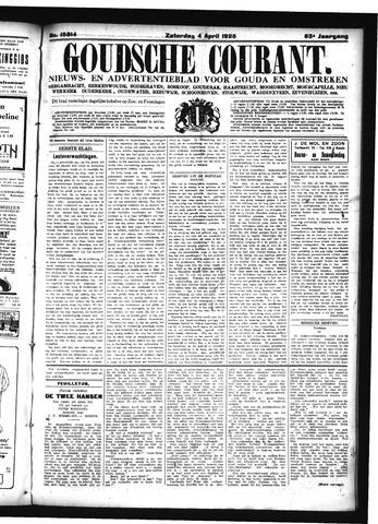 Goudsche Courant 1925-04-04
