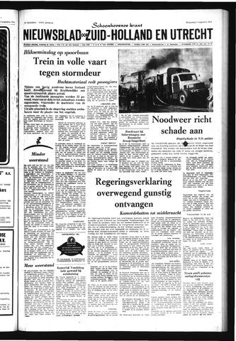 Schoonhovensche Courant 1971-08-04