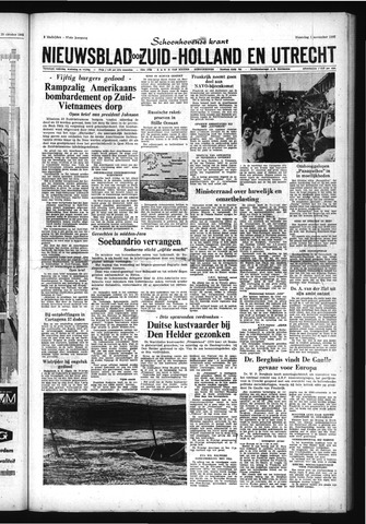 Schoonhovensche Courant 1965-11-01