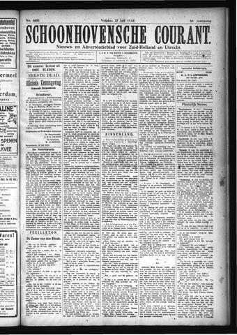 Schoonhovensche Courant 1923-07-27
