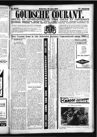 Goudsche Courant 1936-06-20