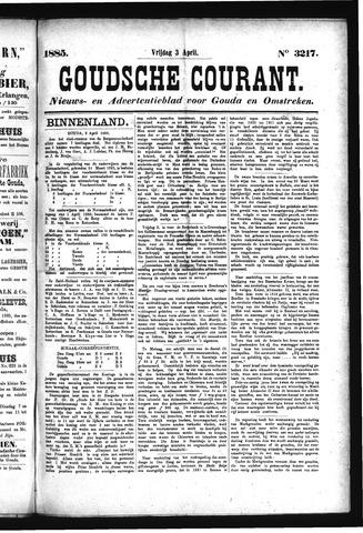 Goudsche Courant 1885-04-03