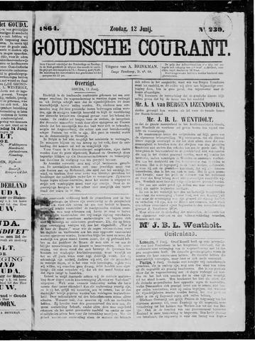 Goudsche Courant 1864-06-12