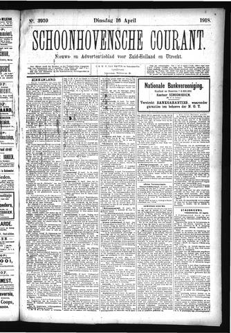 Schoonhovensche Courant 1918-04-16