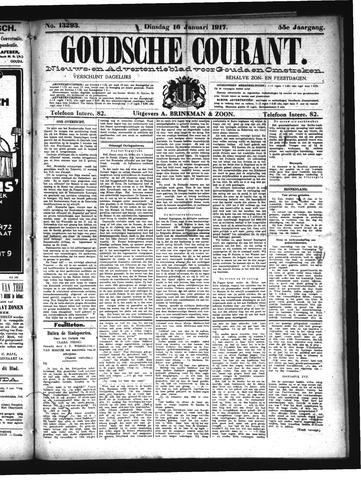 Goudsche Courant 1917-01-16
