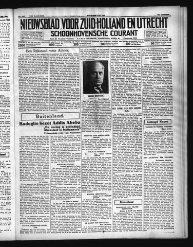 Schoonhovensche Courant 1936-05-06