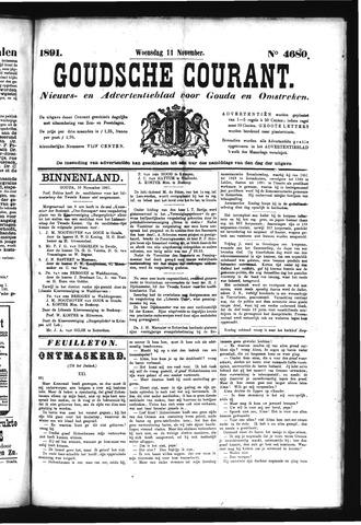 Goudsche Courant 1891-11-11