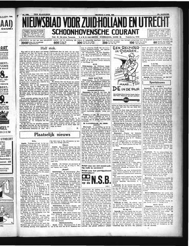 Schoonhovensche Courant 1935-04-08