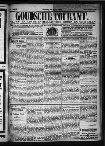Goudsche Courant 1922-04-29
