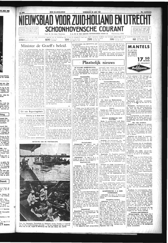 Schoonhovensche Courant 1934-06-20