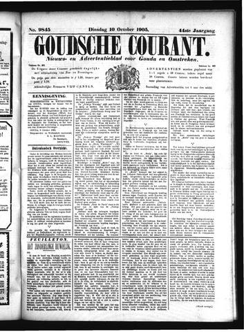 Goudsche Courant 1905-10-10