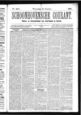 Schoonhovensche Courant 1903-10-28