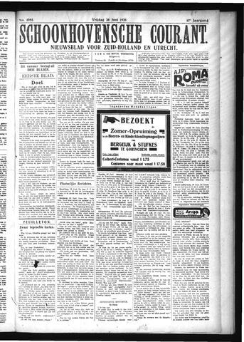 Schoonhovensche Courant 1925-06-26