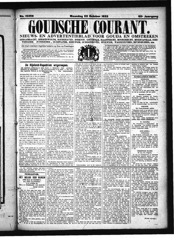 Goudsche Courant 1923-10-22