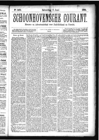 Schoonhovensche Courant 1894-06-09