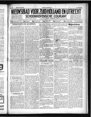 Schoonhovensche Courant 1937-10-08