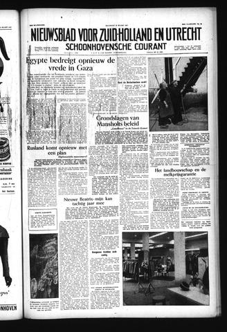 Schoonhovensche Courant 1957-03-18