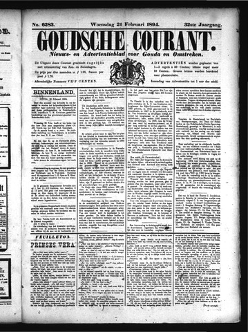 Goudsche Courant 1894-02-21