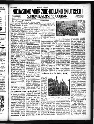 Schoonhovensche Courant 1947-10-01