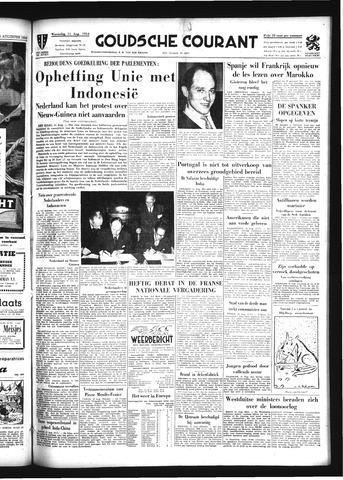 Goudsche Courant 1954-08-11