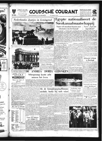 Goudsche Courant 1956-07-27