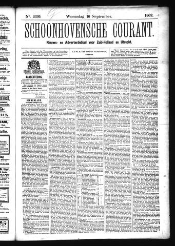 Schoonhovensche Courant 1902-09-10