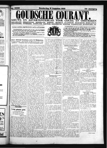 Goudsche Courant 1933-08-10