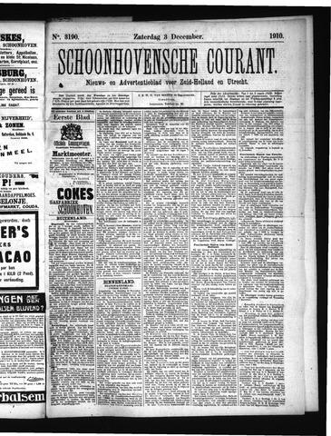 Schoonhovensche Courant 1910-12-03