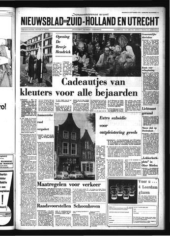 Schoonhovensche Courant 1975-09-22