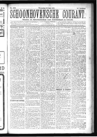 Schoonhovensche Courant 1922-06-28