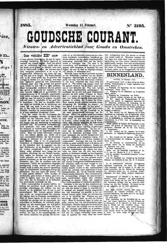 Goudsche Courant 1885-02-11