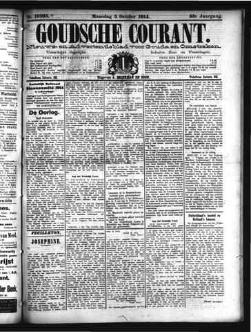 Goudsche Courant 1914-10-05