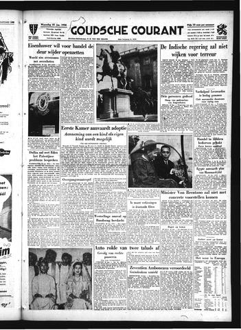Goudsche Courant 1956-01-25