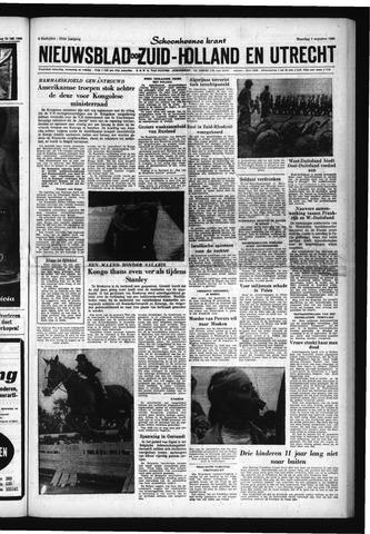 Schoonhovensche Courant 1960-08-01