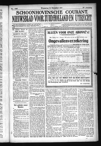 Schoonhovensche Courant 1927-12-21