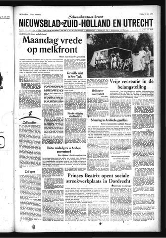 Schoonhovensche Courant 1970-07-31
