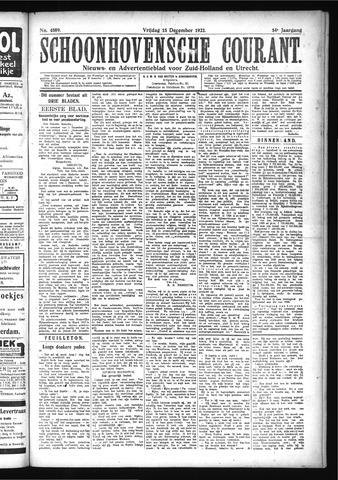 Schoonhovensche Courant 1922-12-15