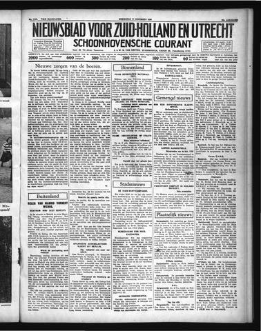 Schoonhovensche Courant 1936-11-11