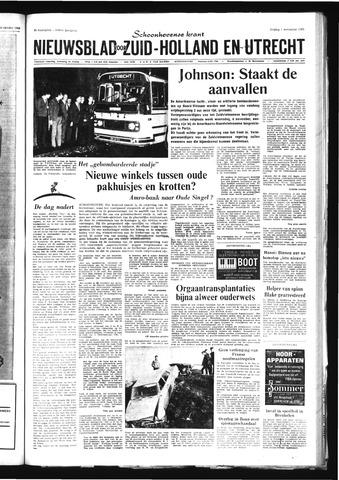 Schoonhovensche Courant 1968-11-01