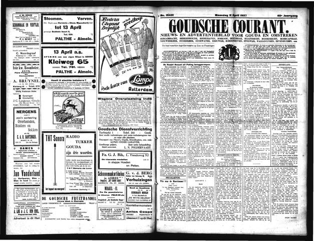 Goudsche Courant 1927-04-11